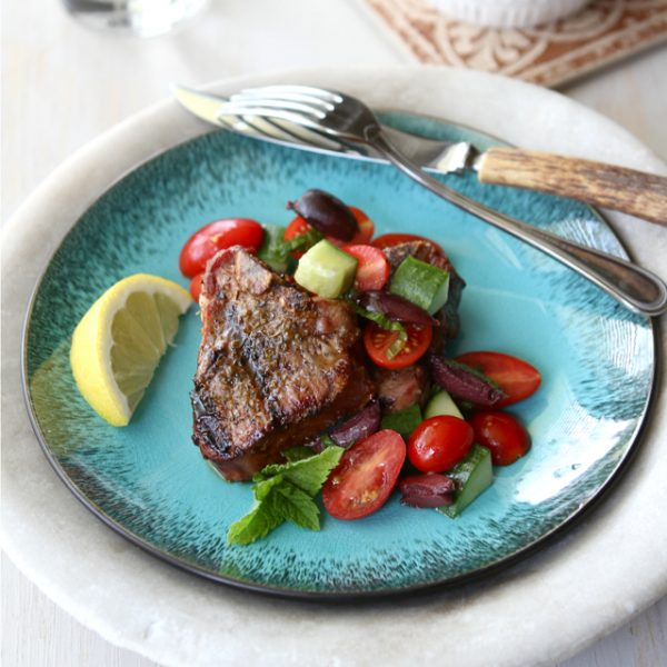 Lamb-Chops-With-Roasted-Tomatoes-And-Cauliflower-Mash