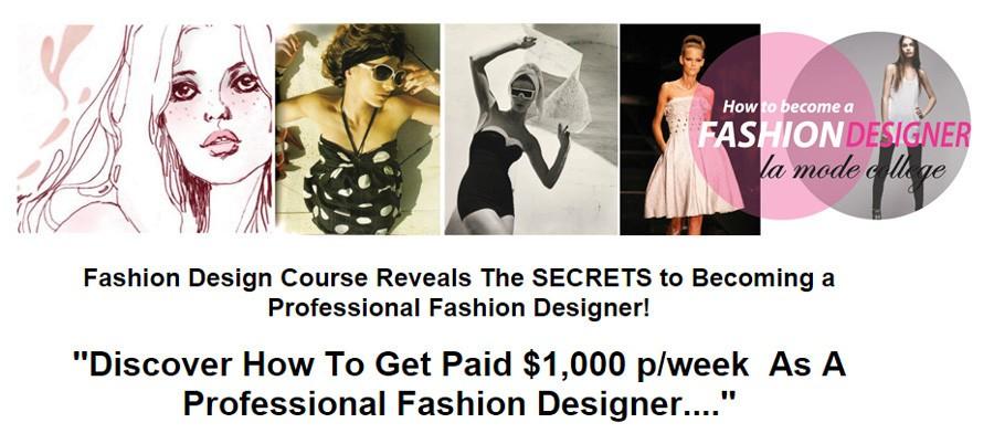 how to become a fashion designer fashion design course
