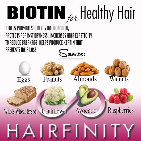 biotin for healthy hair