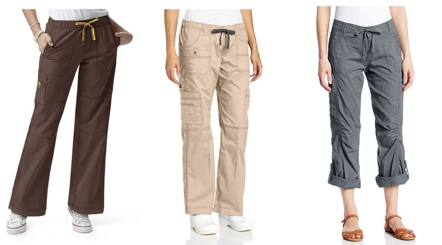 Simple  Women Cargo Pants Hipster Pants Style Camping Clothing For Women
