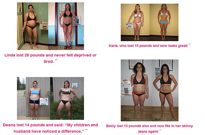 6 minutes to skinny secret before after