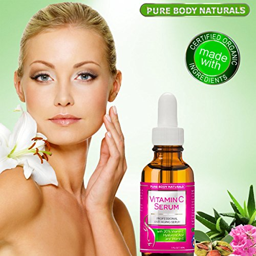 BEST ORGANIC VitaminC Serum For Face