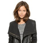 Chole Leather Moto Jacket