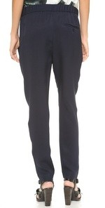 Draped Pocket Trousers