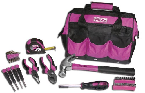 original pink box tool bag