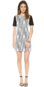 Short Sleeve Lightning Dress