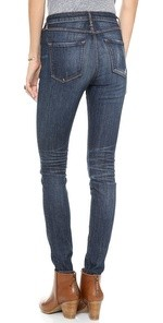 W3 High Rise Regular Skinny Jeans