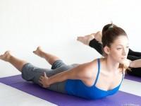 Yoga Locust Pose