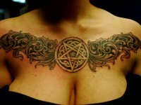 chest tattoos women