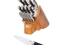 chicago cutlery knife block set