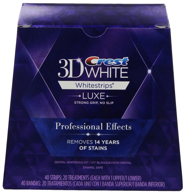 crest 3d white luxe whitestrips