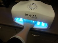 royal nails professional uv light gel