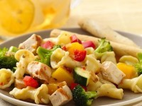 Grilled Chicken And Pasta