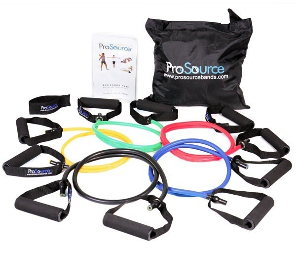 ProSource Premium Double Dipped Latex Resistance Bands