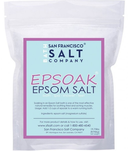 Review Epsoak-Epsom Salt 19.75 Lbs
