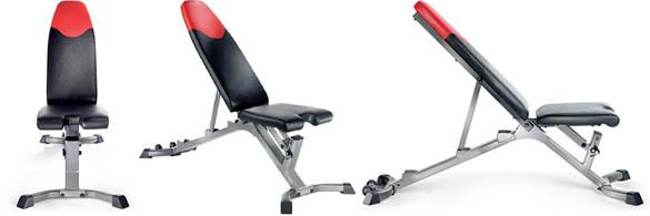 bowflex selecttech adjustable bench series 3.1