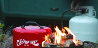 camco propane campfire