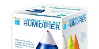 crane drop cool mist humidifier