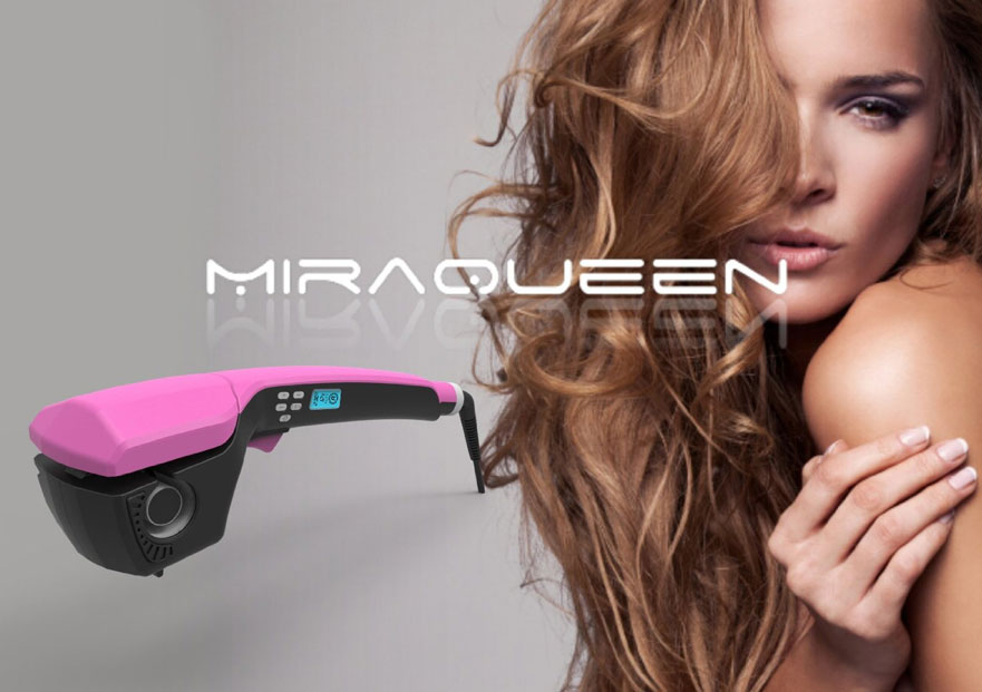 miraqueen professional curling iron