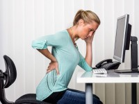 hip pain after sitting