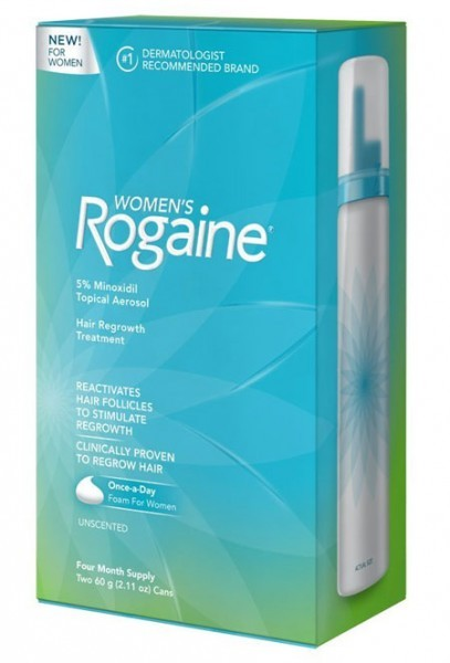rogaine foam for women