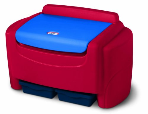 little tikes primary colors toy chest