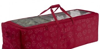 christmas tree rolling storage duffel