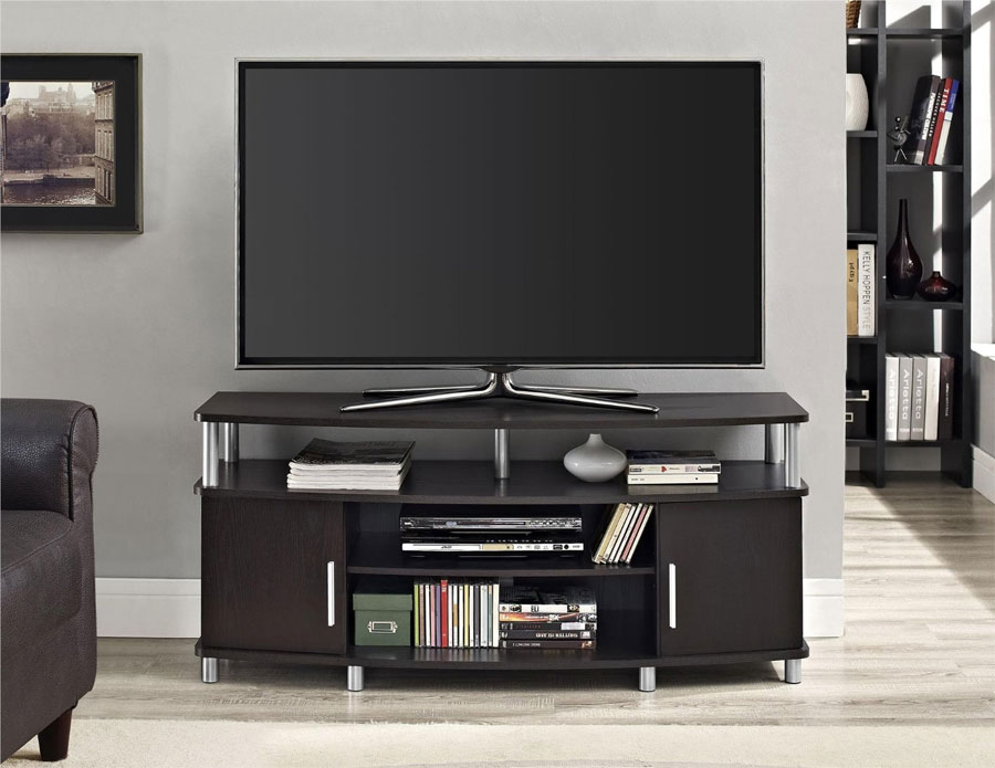Merveilleux Espresso Tv Stand. See Product Details: Altra Furniture Carson ...